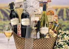 Easter Wine Baskets!